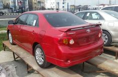 Supper Clean Toyota Corolla 2009 Red for sale