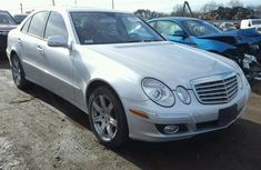 CLEAN 2008 MERCEDES BENZ E350 SILVER FOR SALE.