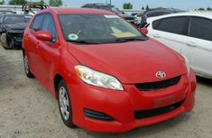 Toyota Matrix 2005 model red for sale....