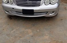 DIRECT TOKUNBO MERCEDES BENZ C280 2007 SILVER FOR SALE