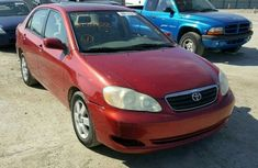 2010 Toyota Corolla Red for sale with full option
