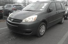 Foreign used Toyota Sienna 2006 Black for sale