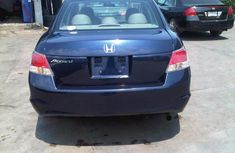 Honda Accord 2010 Model blue for sale