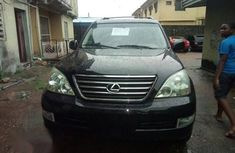 Very Neat Full Options Lexus GX470 2009 Black for sale