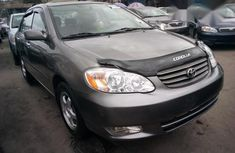 Toyota Corolla 2004 Gray for sale