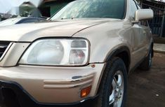 Honda CR-V 2001 Gold for sale