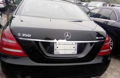 Mercedes-Benz S350 2008 Petrol Automatic Black