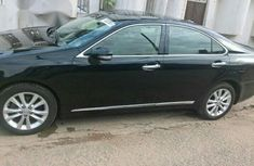 Lexus Es350 2012 Black for sale