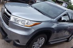 Toyota Highlander 2014 Silver for sale