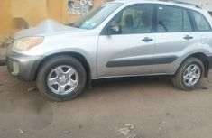 Clean Toyota RAV4 2002 Silver for sale