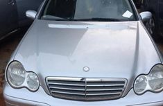 Mercedes-benz C200 2007 Silver for sale