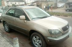 Lexus Rx300 1999 Gold for sale