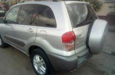 Toyota Rav4 2003 Silver for sale