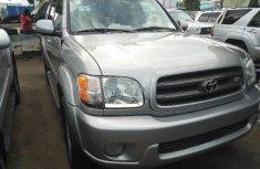Toyota Sequoia 2004 Petrol Automatic Grey/Silver