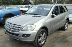 Direct Tokunbo Mercedes Benz Ml350 2010 Silver For Sale