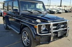 G63 Mercedes Benz 2015 Black for sale