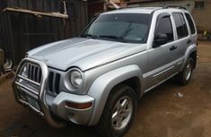 Jeep Liberty 2004 silver for sale