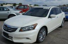 Honda Accord 2011 White for sales