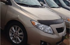 TOYOTA Corolla 2008 gold for sales