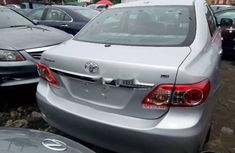 TOYOTA Corolla 2008 silver for sales