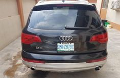 Q7 Audi 2011 black for sale