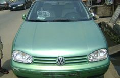 Tokunbo Volkswagen Golf 4 2000 Green for sale