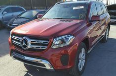 MERCEDES BENZ GL450 2010 RED FOR SALE