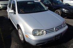 Tokunbo Volkswagen Golf 4 2000 Silver for sale