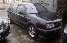 Tokunbo Volkswagen Golf3 1999 Black for sale