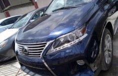 Lexus RX 2015 Petrol Automatic Blue for sale