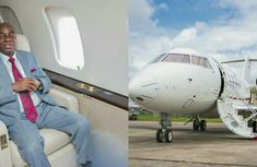 Bishop David Oyedepo's N14 billion private jet will leave you dumbfounded