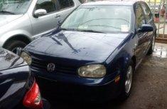 Volkswagen Golf 4 2002 Blue for sale