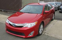 Toyota Camry red for sale 2010