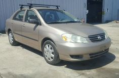 Toyota Corolla for sale 2004 model