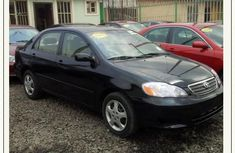 Toyota Corolla 2006 Petrol Automatic Black for sale