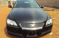 Neat Toyota Mark 2004 black for sale