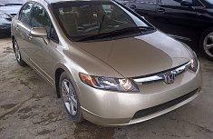 Tokunbo 2008 Honda Civic Beige for sale