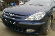 Peugeot 607 blue 2005 for sale