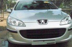 Peugeot 407 2007 for sale very sharp sliver color