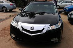 Black Acura TL 2010 model  FOR SALE