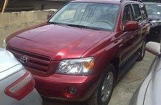 Tokunbo 2005 Toyota Highlander Limited FOR SALE