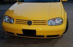 Volkswagen Golf 2004 Yellow for sale