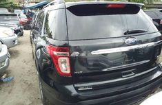 Ford Edge black 2010 model for sale