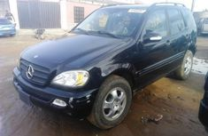Mercedes-Benz ML 320 2001 Petrol Automatic Black