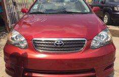2004 Toyota Corolla sport for urgent sale's