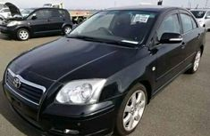 Toyota Avensis 2005 Black For Sale