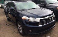 Toyota Highlander 2014 Petrol Automatic Black for sale