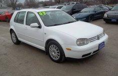 2004 Clean Volkswagen Golf4 White FOR SALE