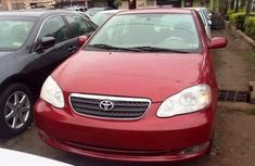Toyota Corolla Red 2008 for sale