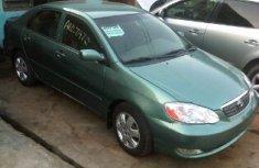 Toyota Corolla Green 2004 for sale